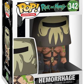 Figurine Pop! Hémorragie - Rick et Morty