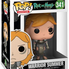 Figurine Pop! Summer Guerrière - Rick et Morty