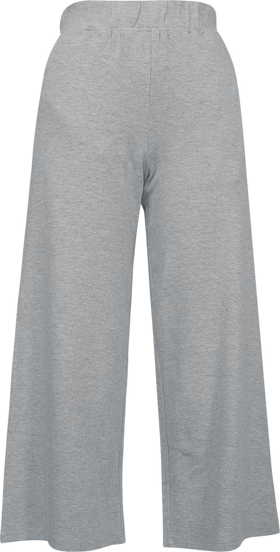 Hosen für Frauen - Urban Classics Ladies Culotte Girl Hose grau  - Onlineshop EMP