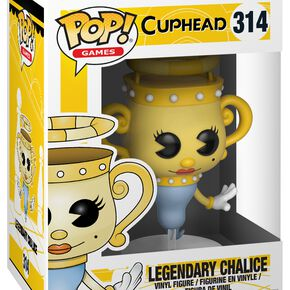 Figurine Pop! Legendary Chalice - Cuphead