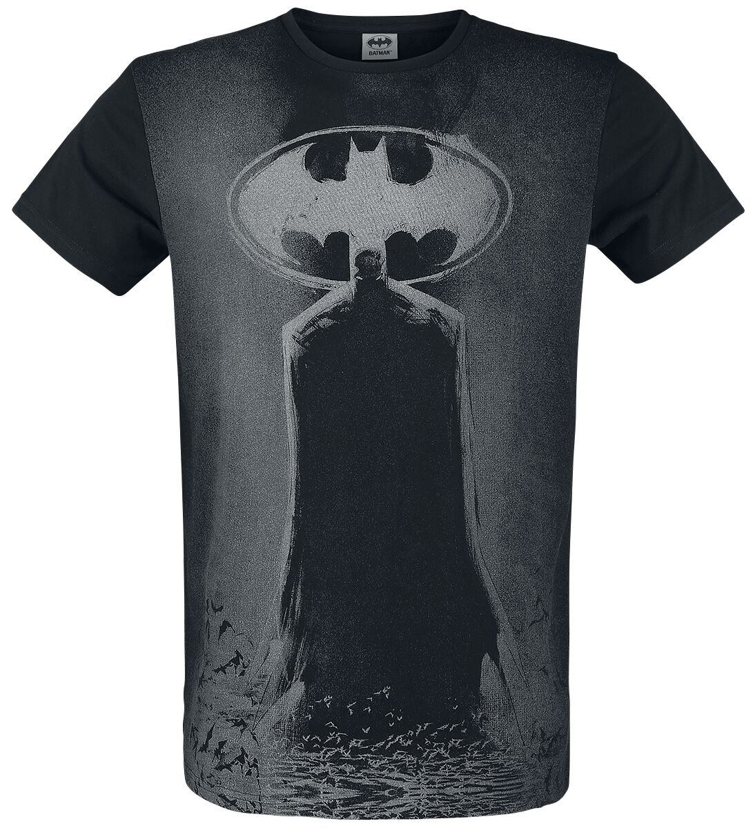 Image of   Batman Silhouette T-Shirt sort