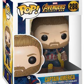 Figurine Pop! Captain America - Marvel Avengers Infinity War
