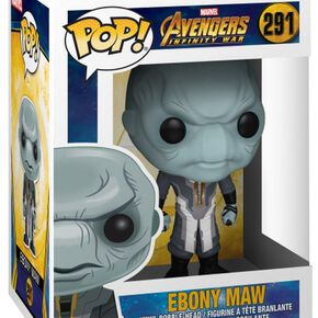 Avengers Infinity War - Figurine En Vinyle bony Maw 291 Figurine de collection Standard