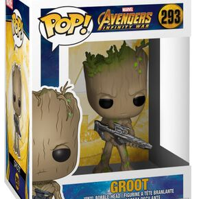 Avengers Infinity War - Figurine En Vinyle Groot 293 Figurine de collection Standard