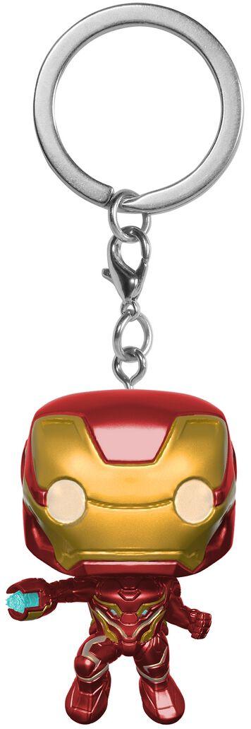 Merch dla Fanów - Breloczki do kluczy - Breloczek do kluczy Avengers Infinity War - Iron Man Breloczek do kluczy standard - 371019