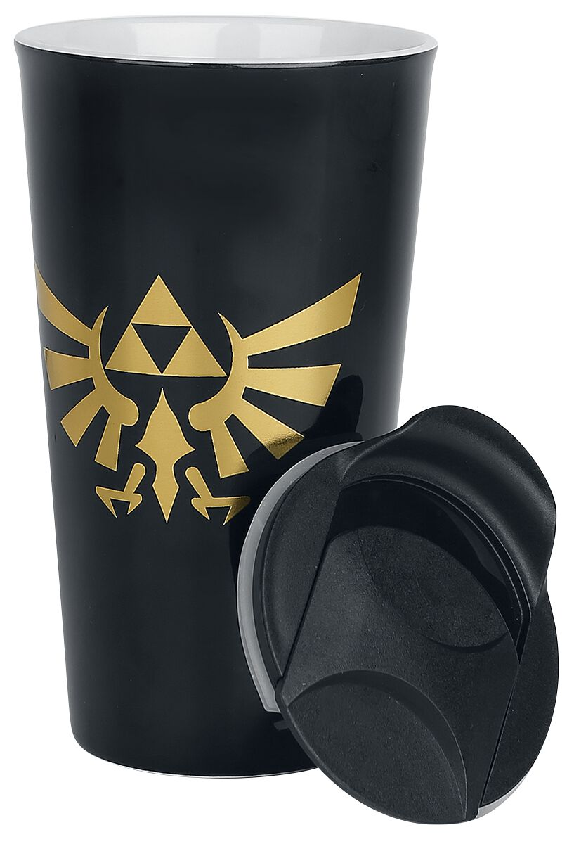 Image of   The Legend Of Zelda Travel Mug Krus multifarvet