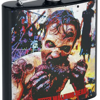 The Walking Dead Zombie - Flasque Bouteille multicolore