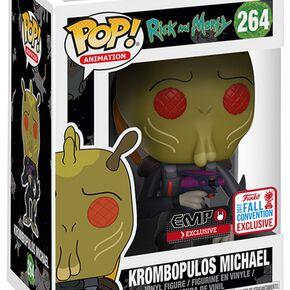 Rick & Morty Figurine En Vinyle - Krombopulos Michael - NYCC 2017 - 264 Figurine de collection Standard