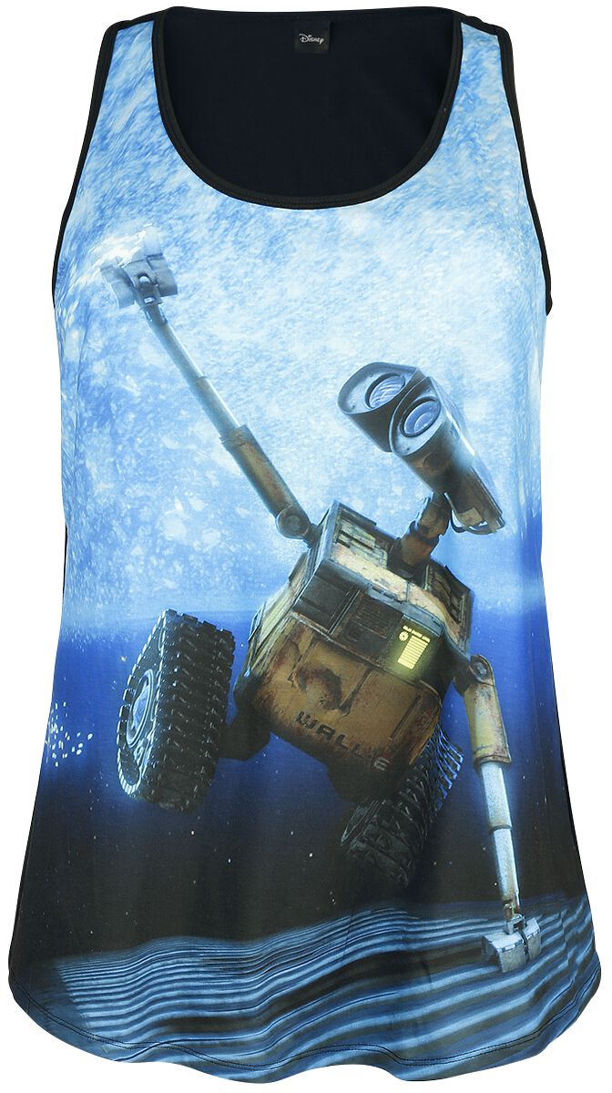 Image of   Wall-E Wall-E In Space Girlie top multifarvet