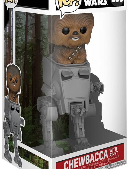 Figurine Pop! Deluxe Chewbacca dans TR-TT - Star Wars