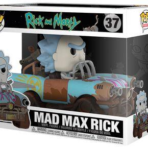 Figurine Pop! Mad Max Rick - Rick et Morty