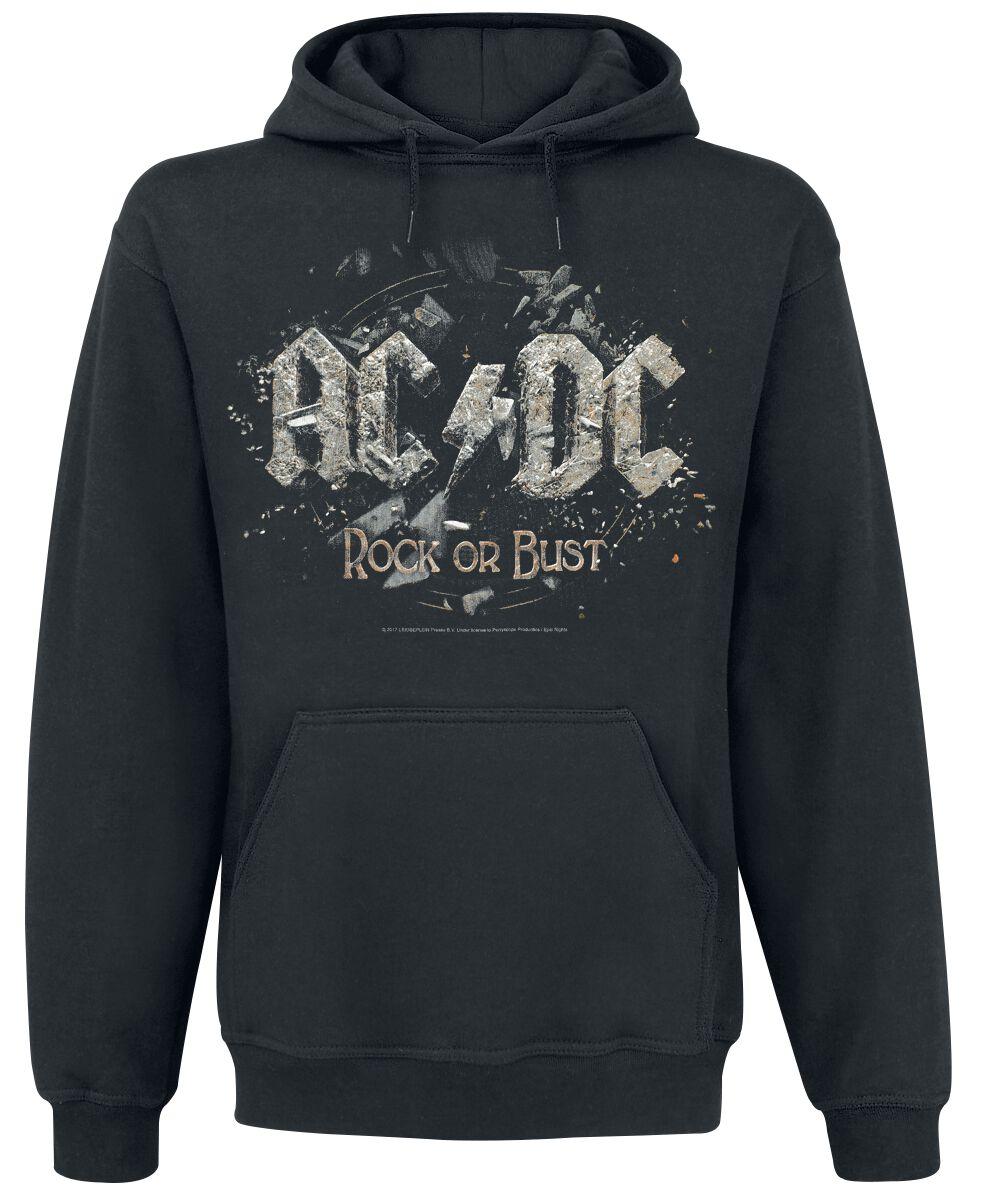 Image of   AC/DC Back in Black T-Shirt sort