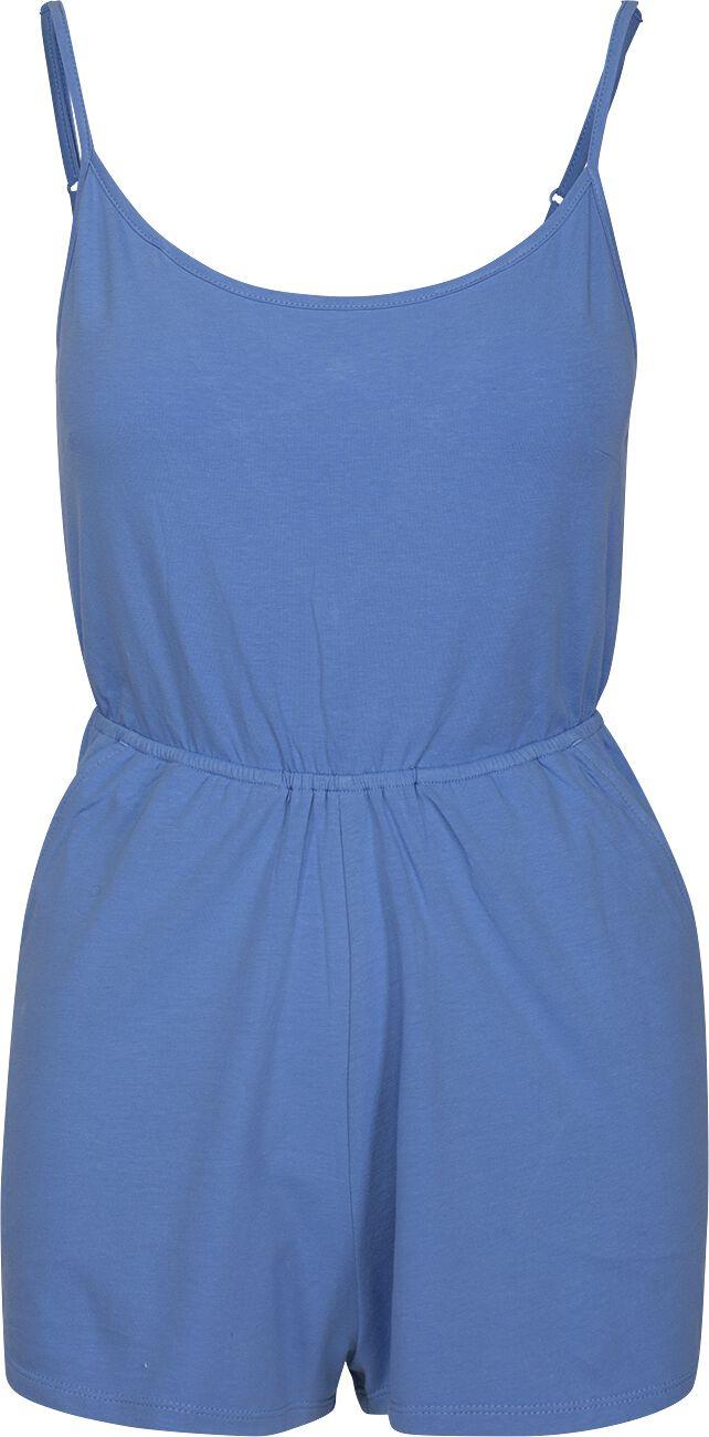 Image of   Urban Classics Ladies Short Spaghetti Jumpsuit Jumpsuit blå