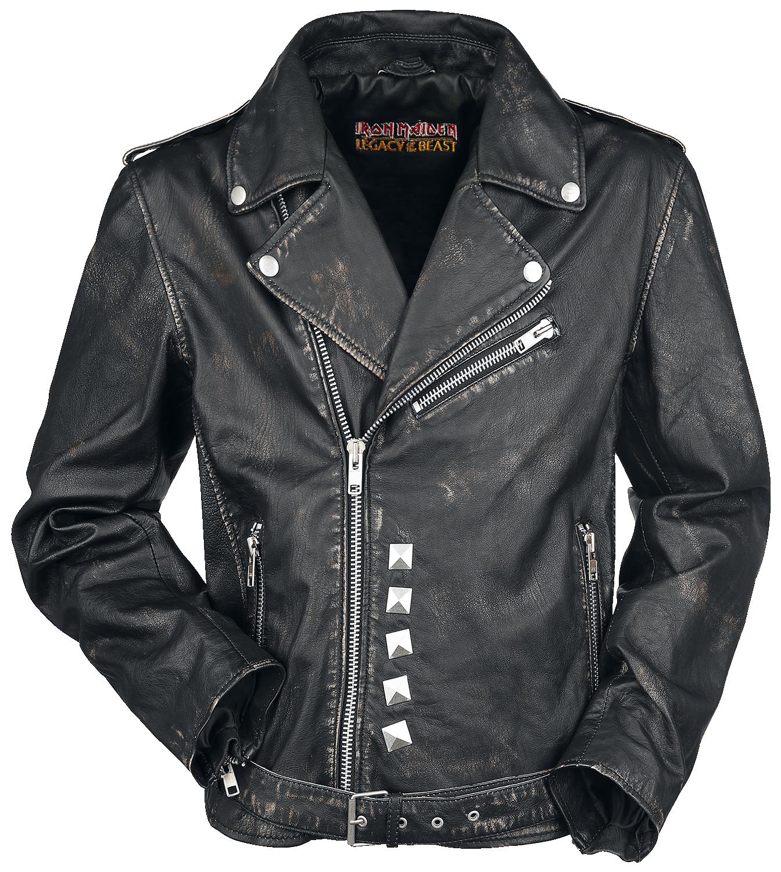 Iron Maiden - EMP Signature Collection - Leather jacket - black