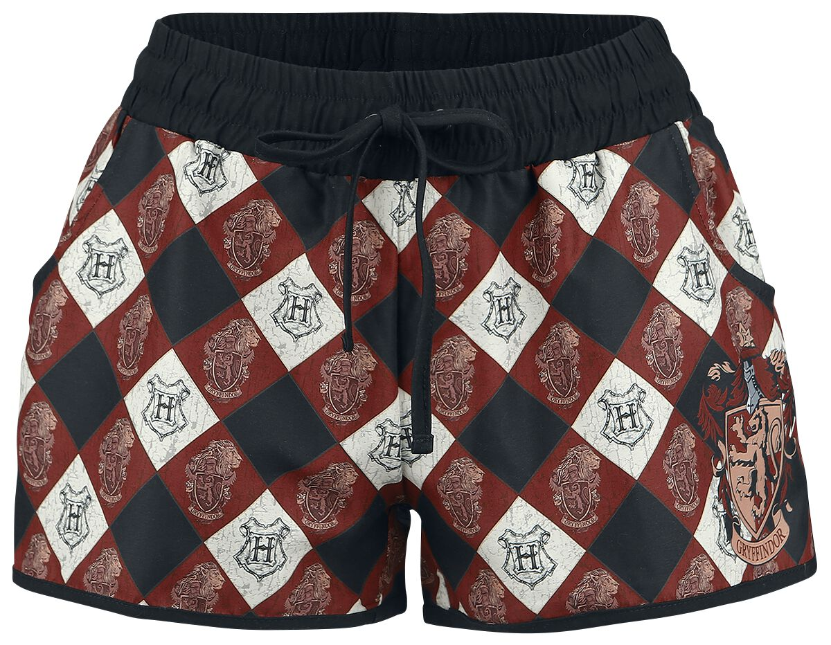 Image of   Harry Potter Gryffindor Badeshorts multifarvet