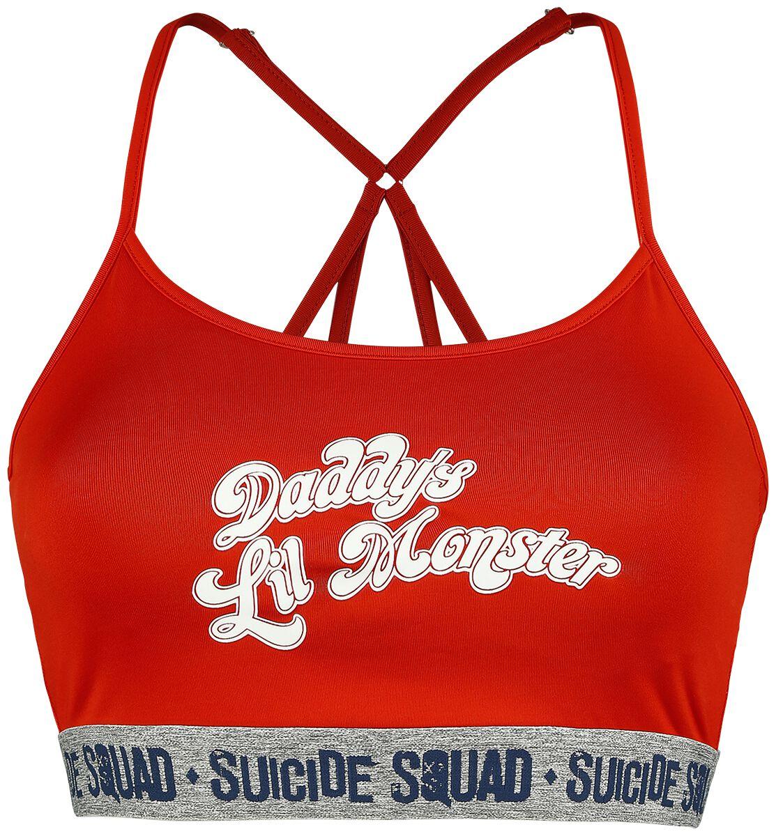 Merch dla Fanów - Bielizna - Bielizna Suicide Squad Daddys Lil Monster Bielizna czerwony/odcienie szarego - 371220