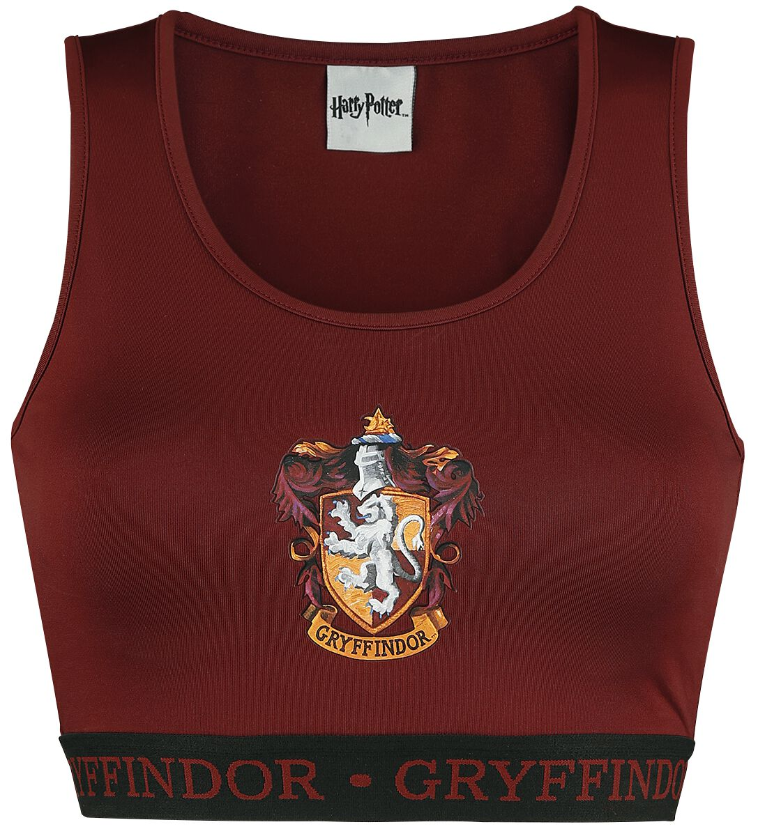 Merch dla Fanów - Bielizna - Bielizna Harry Potter Gryffindor Bielizna czerwony/czarmy - 371225