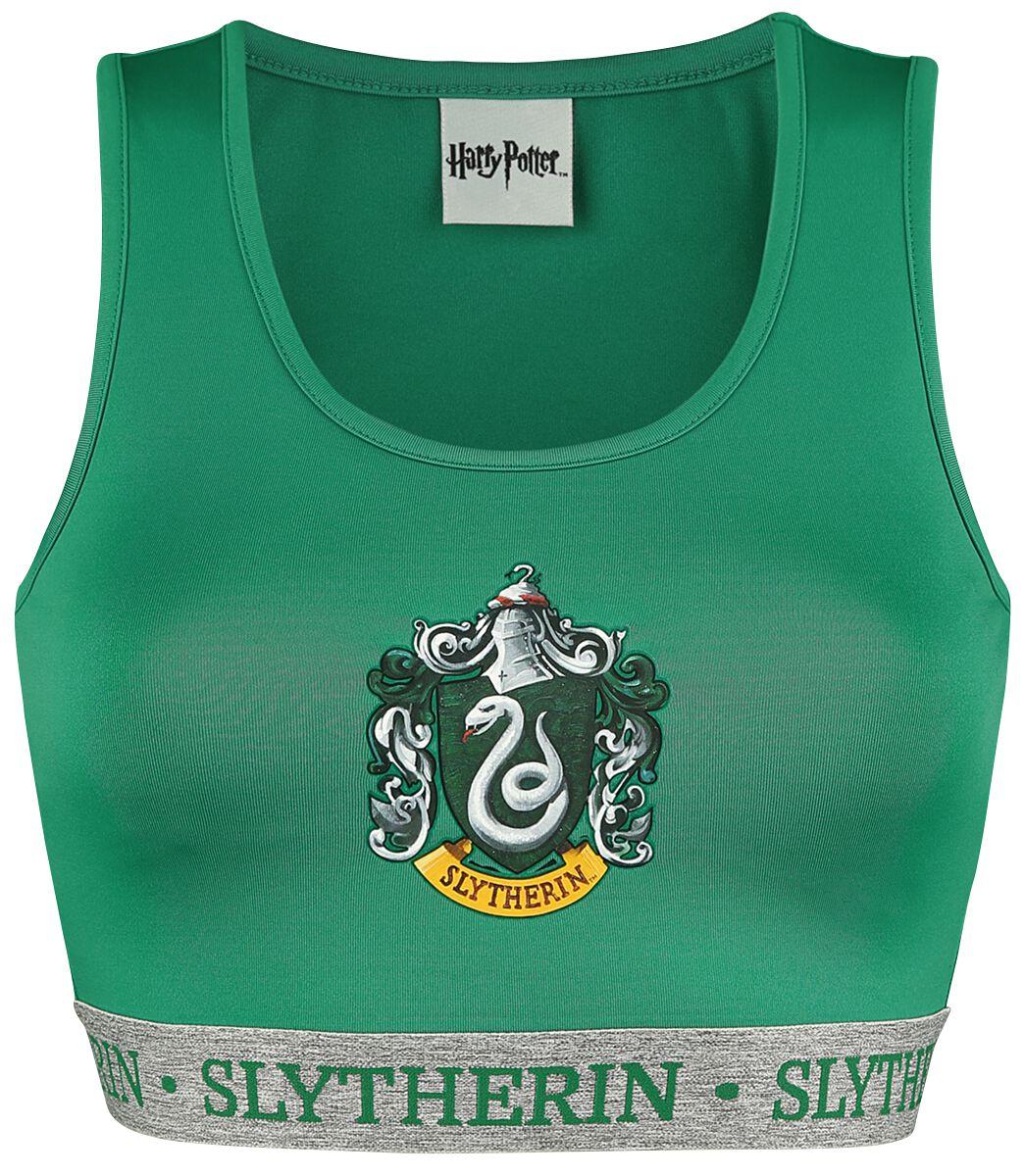 Merch dla Fanów - Bielizna - Bielizna Harry Potter Slytherin Bielizna zielony/szary melanż - 371226