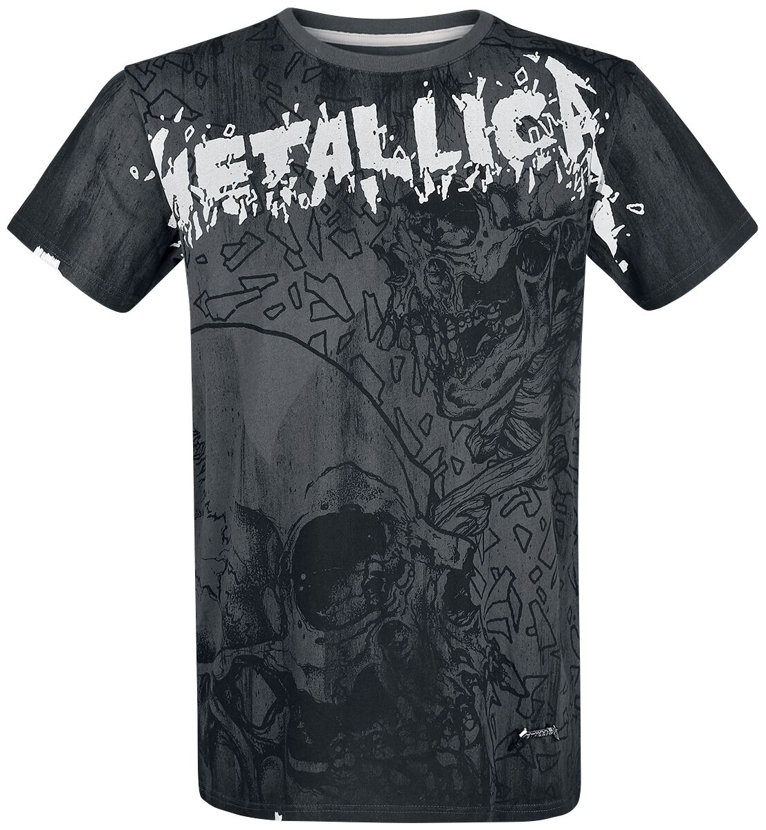 Image of   Metallica EMP Signature Collection T-Shirt grå
