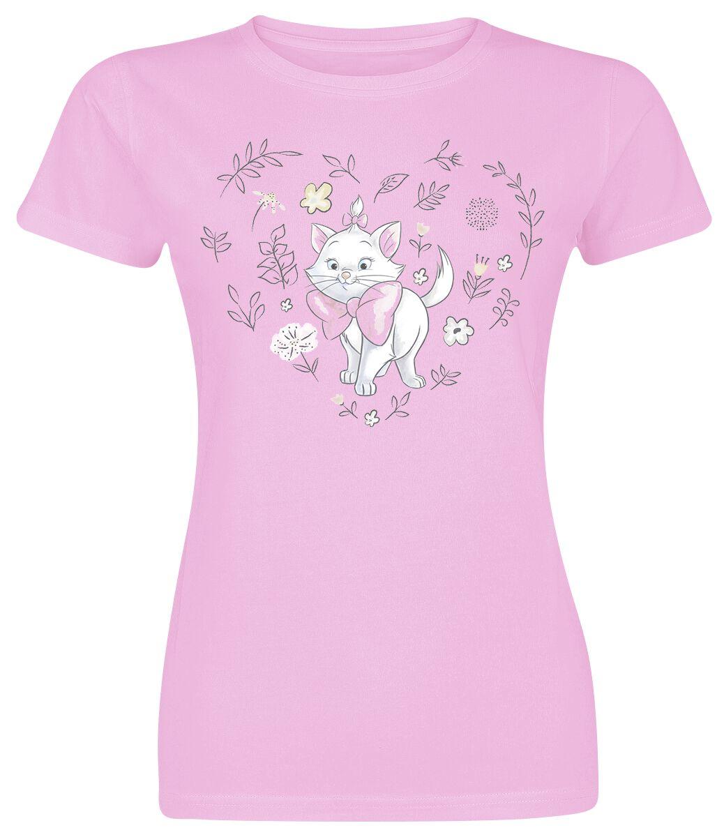 Aristocats Marie Koszulka damska jasnoróżowy (Light Pink)