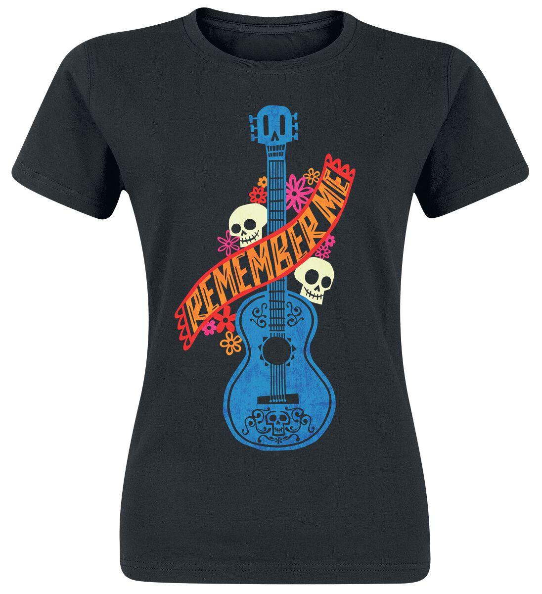 Merch dla Fanów - Koszulki - Koszulka damska Coco Guitarra Azul Koszulka damska czarny - 371280