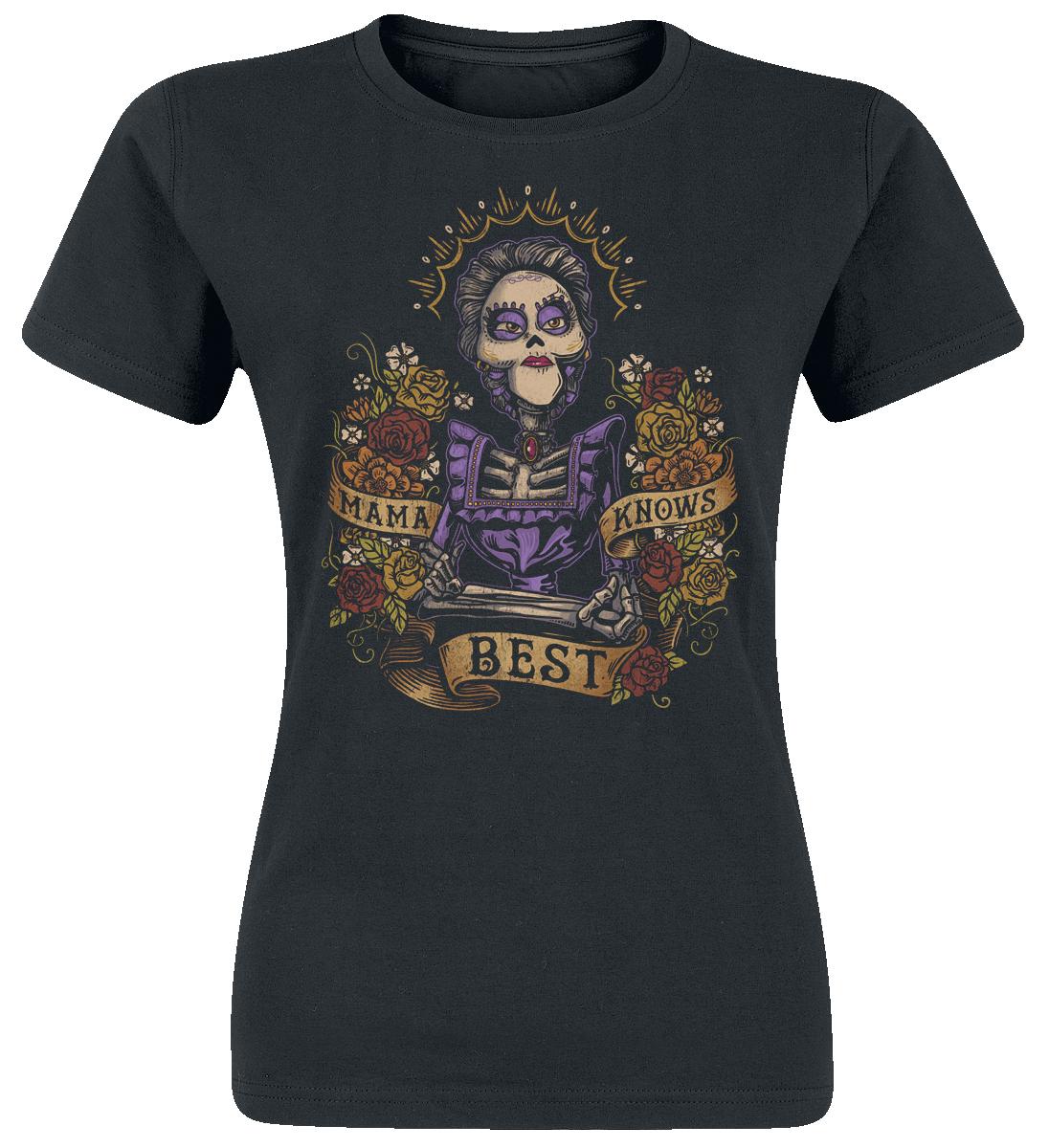 Coco Mama Colores Koszulka damska czarny