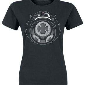 Star Wars Episode 8 - The Last Jedi - Bad BB-8 T-shirt Femme noir