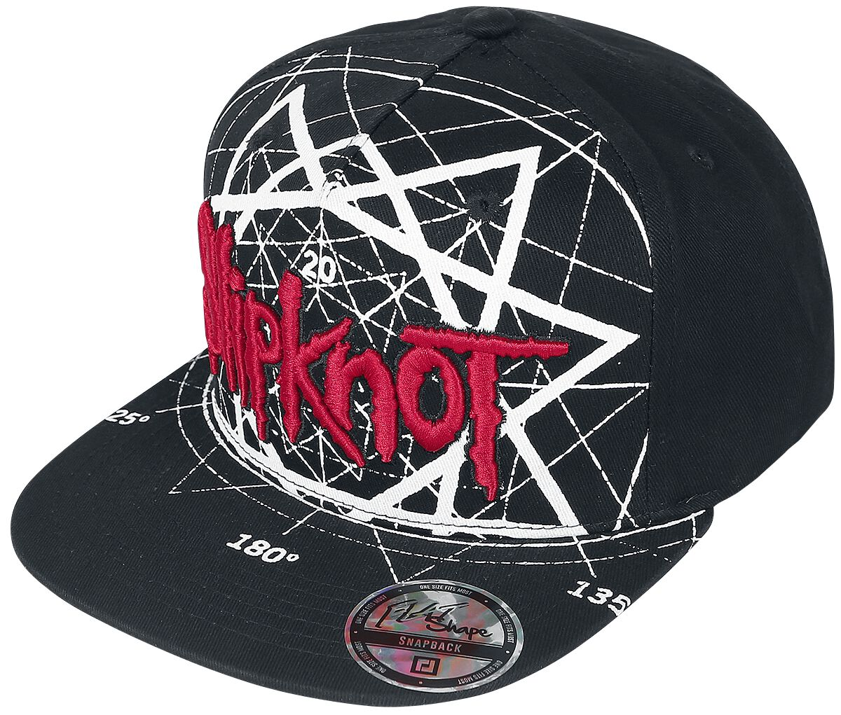 Image of   Slipknot Jumbo Star Snapback Cap sort