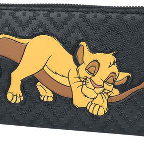 Le Roi Lion Loungefly - Simba Portefeuille noir/jaune