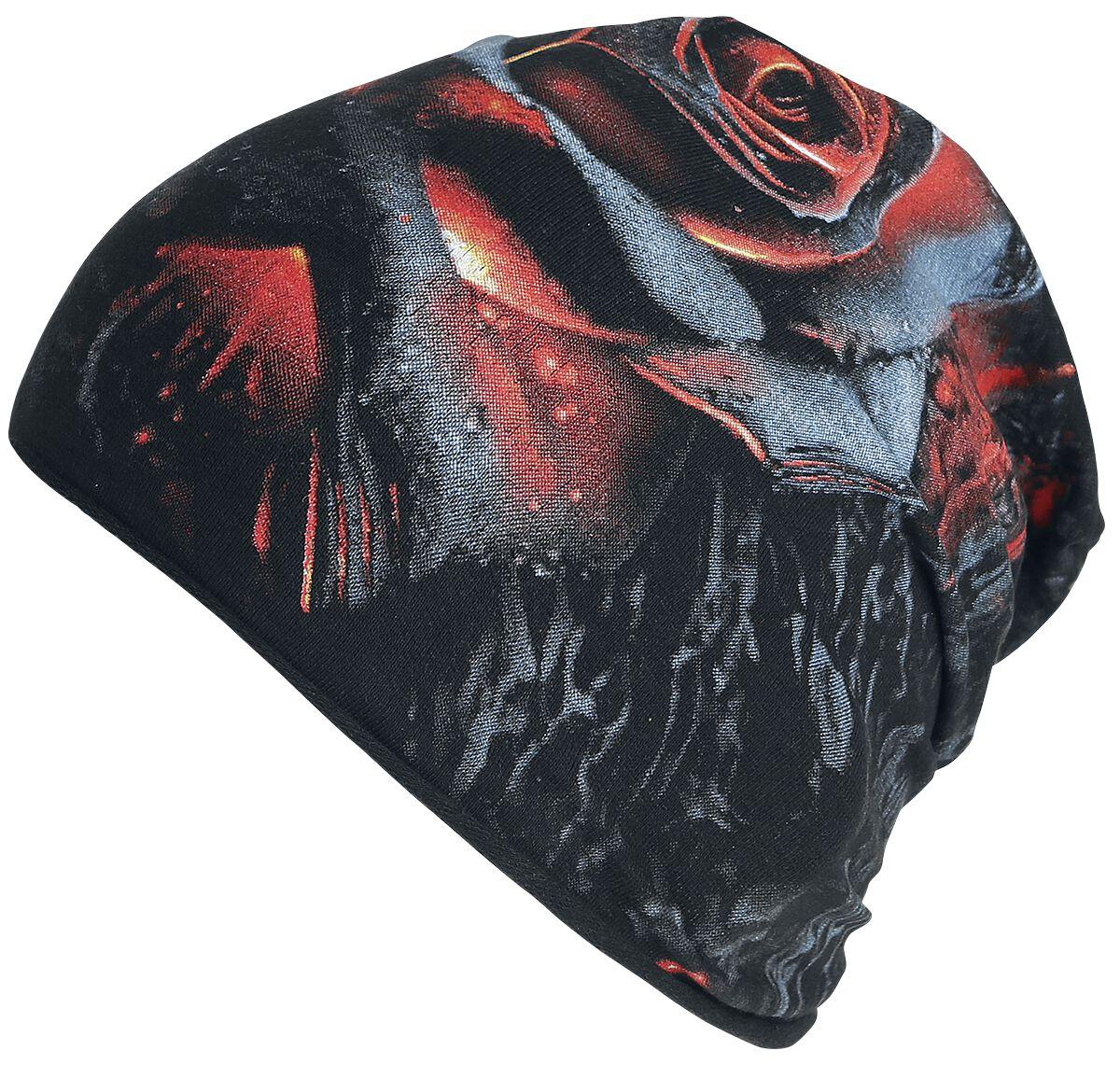 Image of   Spiral Burnt Rose Beanie multifarvet