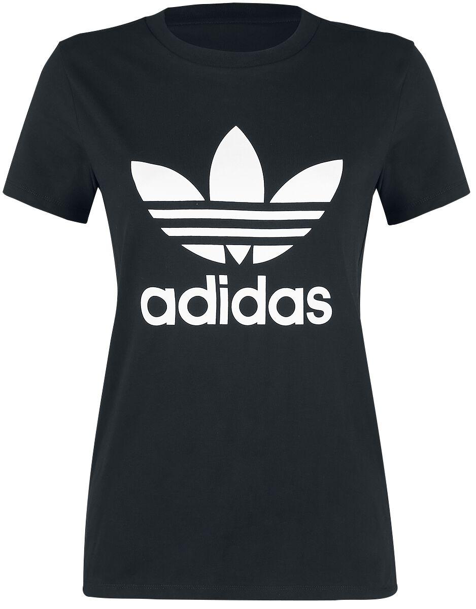 Adidas Trefoil Tee Koszulka damska czarny