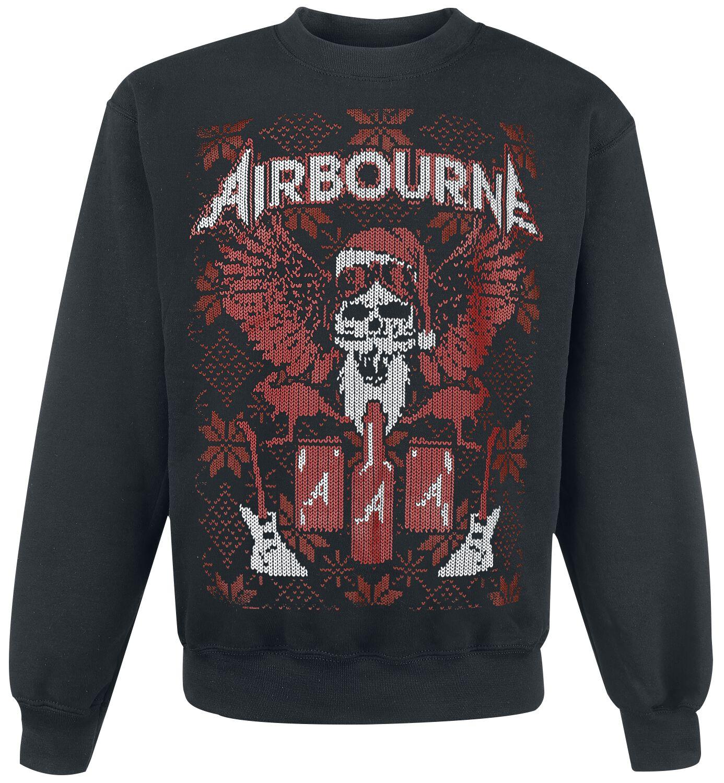 Zespoły - Bluzy - Bluza Airbourne Rock N' Roll Is For Life - XMAS SPECIAL Bluza czarny - 371438