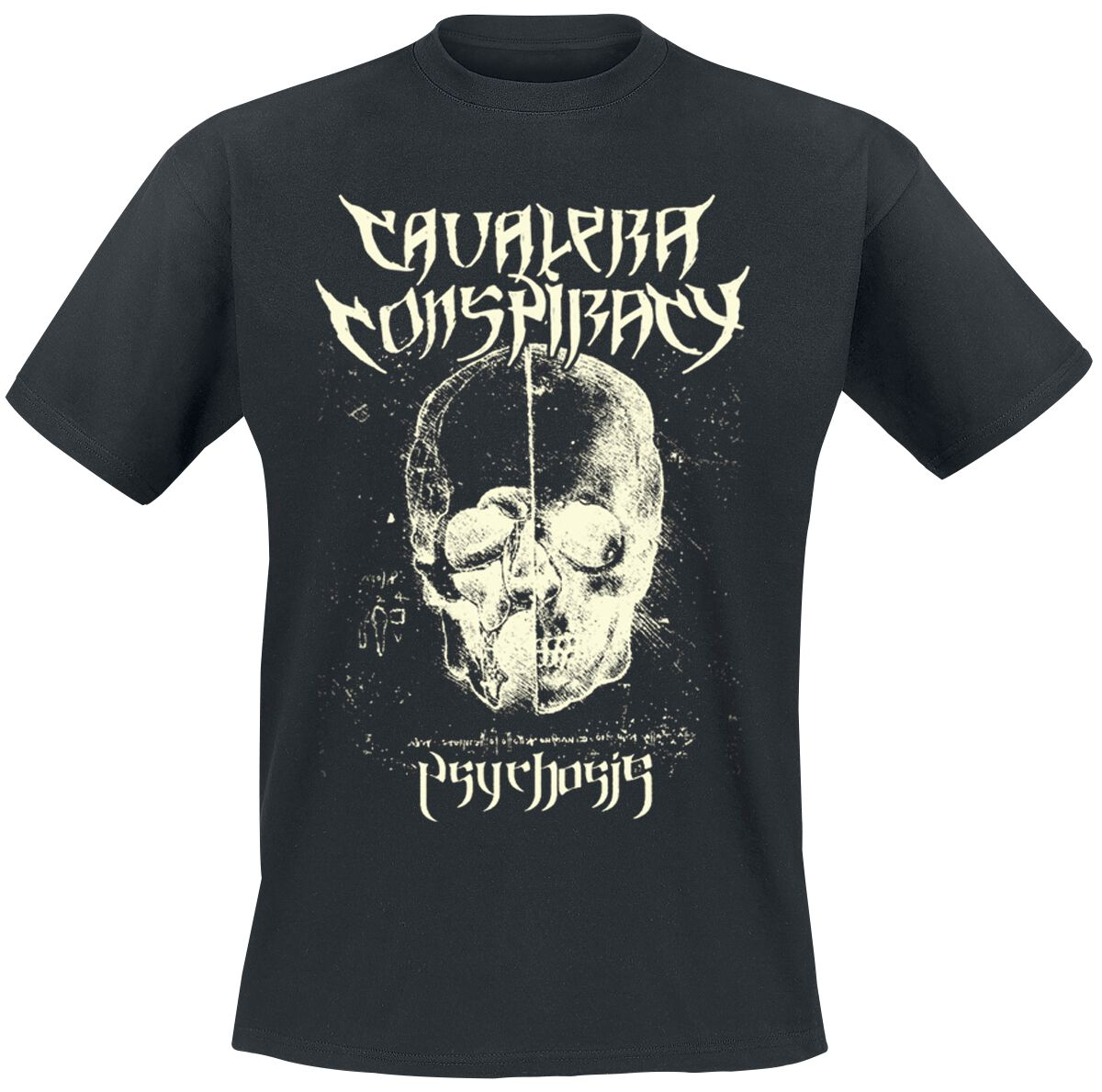 Image of   Cavalera Conspiracy Psychosis T-Shirt sort