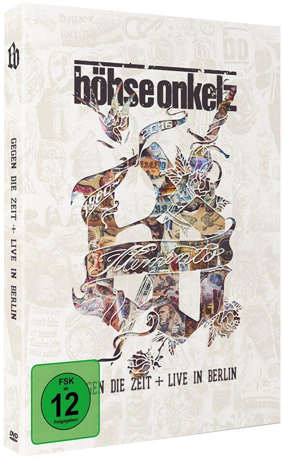 Image of   Böhse Onkelz Memento - Gegen die Zeit + Live in Berlin 3-DVD standard