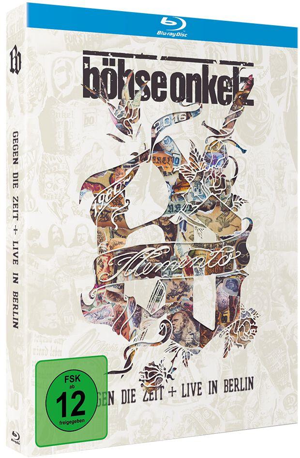 Image of   Böhse Onkelz Memento - Gegen die Zeit + Live in Berlin 2-Blu-ray Disc standard
