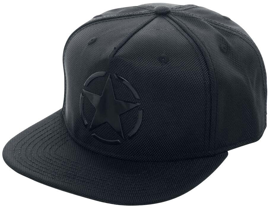 Merch dla Fanów - Czapki i Kapelusze - Czapka Snapback Call Of Duty WWII - Star Czapka Snapback czarny - 371538