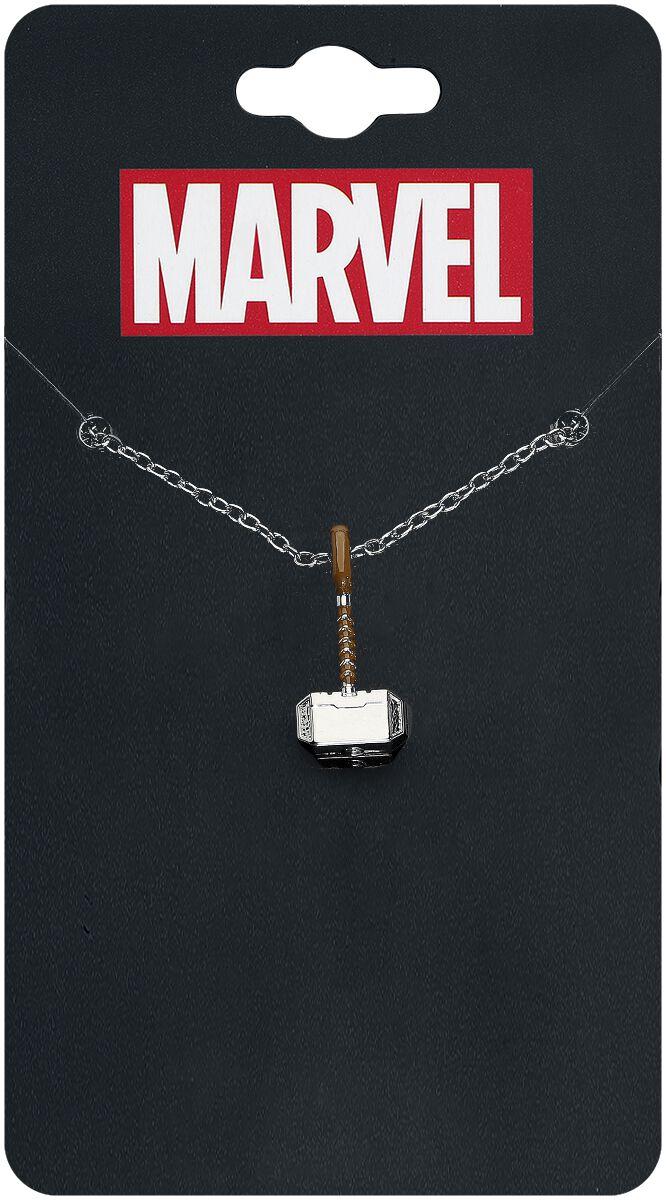 Image of   Thor Thors Hammer Halskæde sølvfarvet