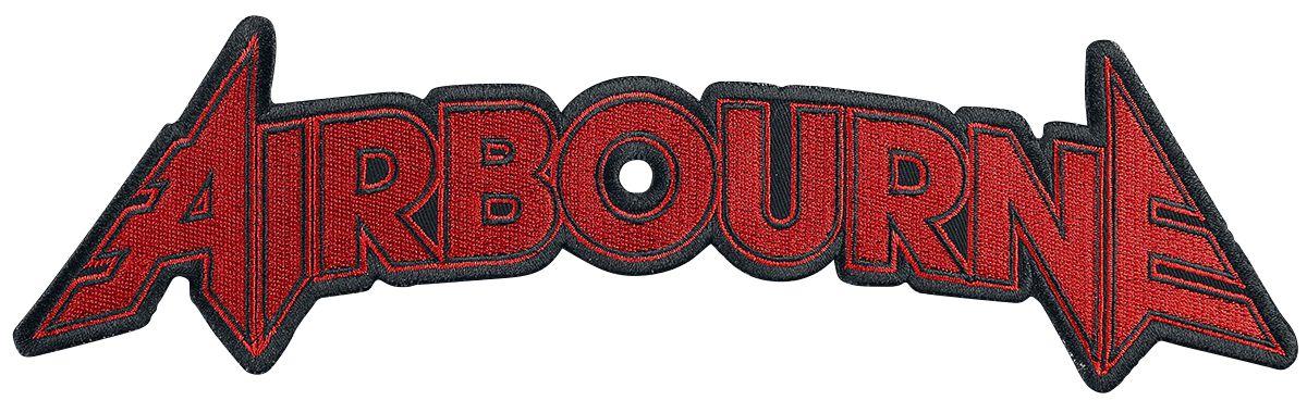 Zespoły - Naszywki - Naszywka na plecy Airbourne Logo - 30 Zentimeter Naszywka na plecy czerwony - 371654