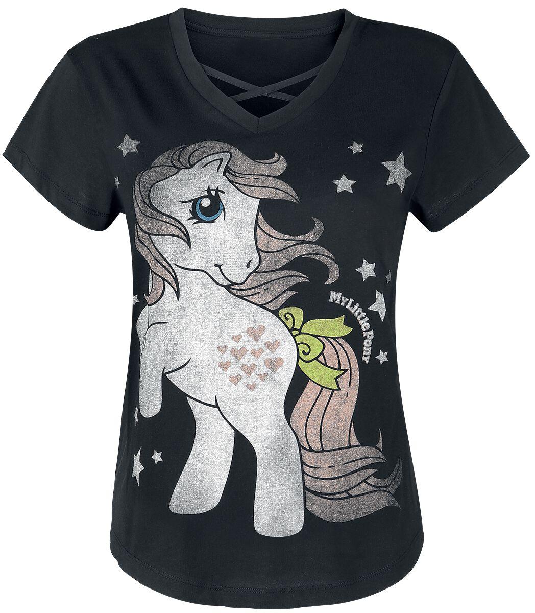 My Little Pony Stars Girl-Shirt schwarz