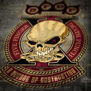 Image of   Five Finger Death Punch A decade of destruction CD standard