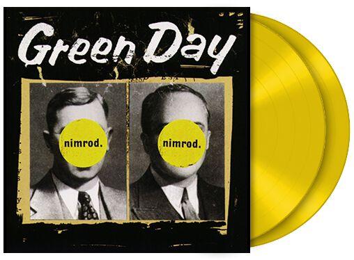 Green Day Nimrod 2-LP Standard