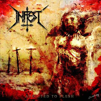 Image of   Infest Addicted to flesh CD standard