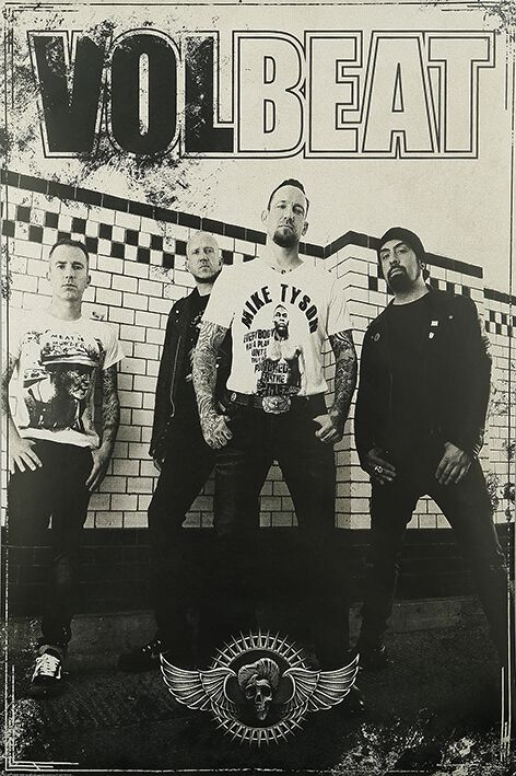 Image of   Volbeat Tour Plakat multifarvet