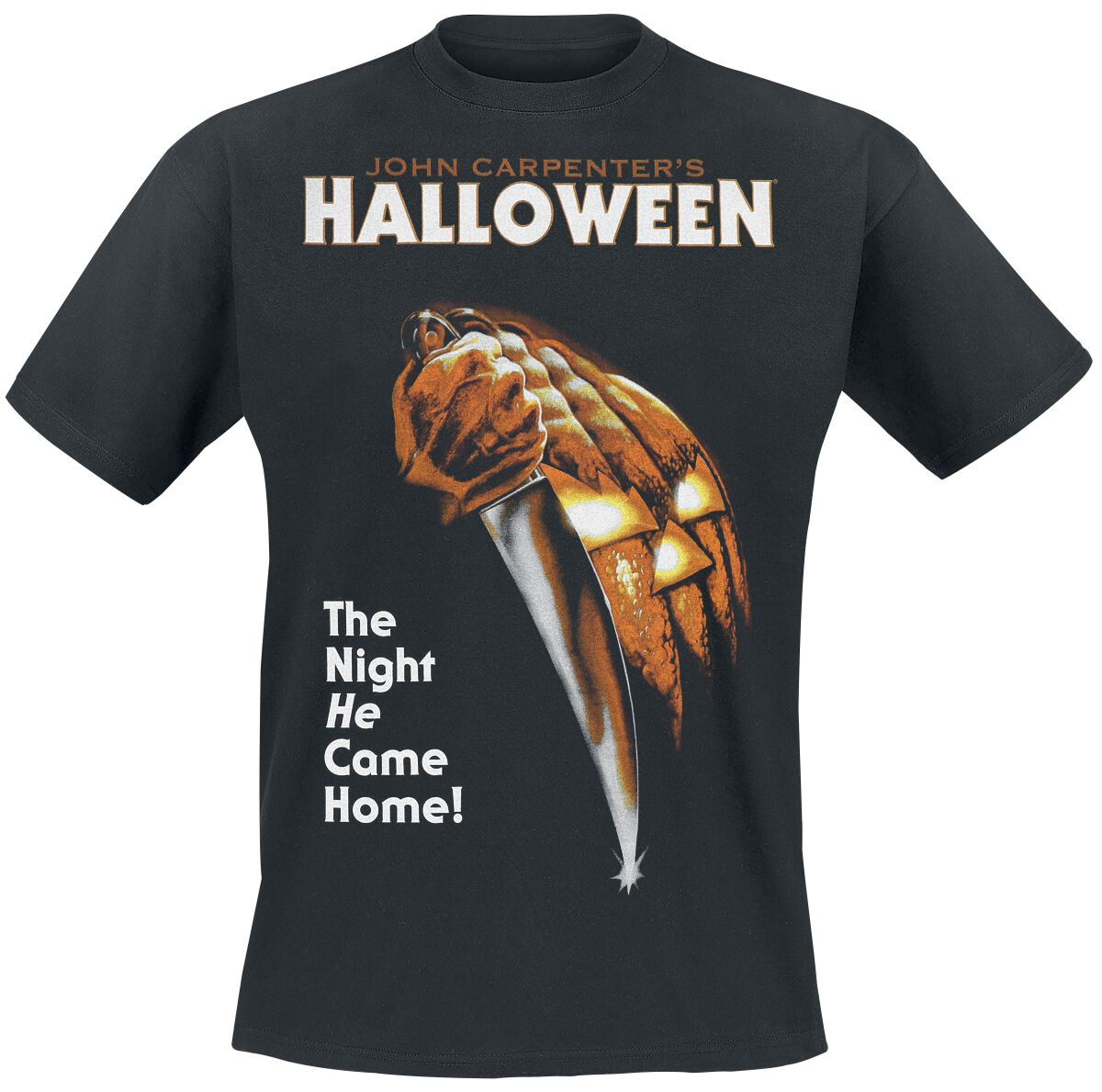 Image of   Halloween Poster T-Shirt sort