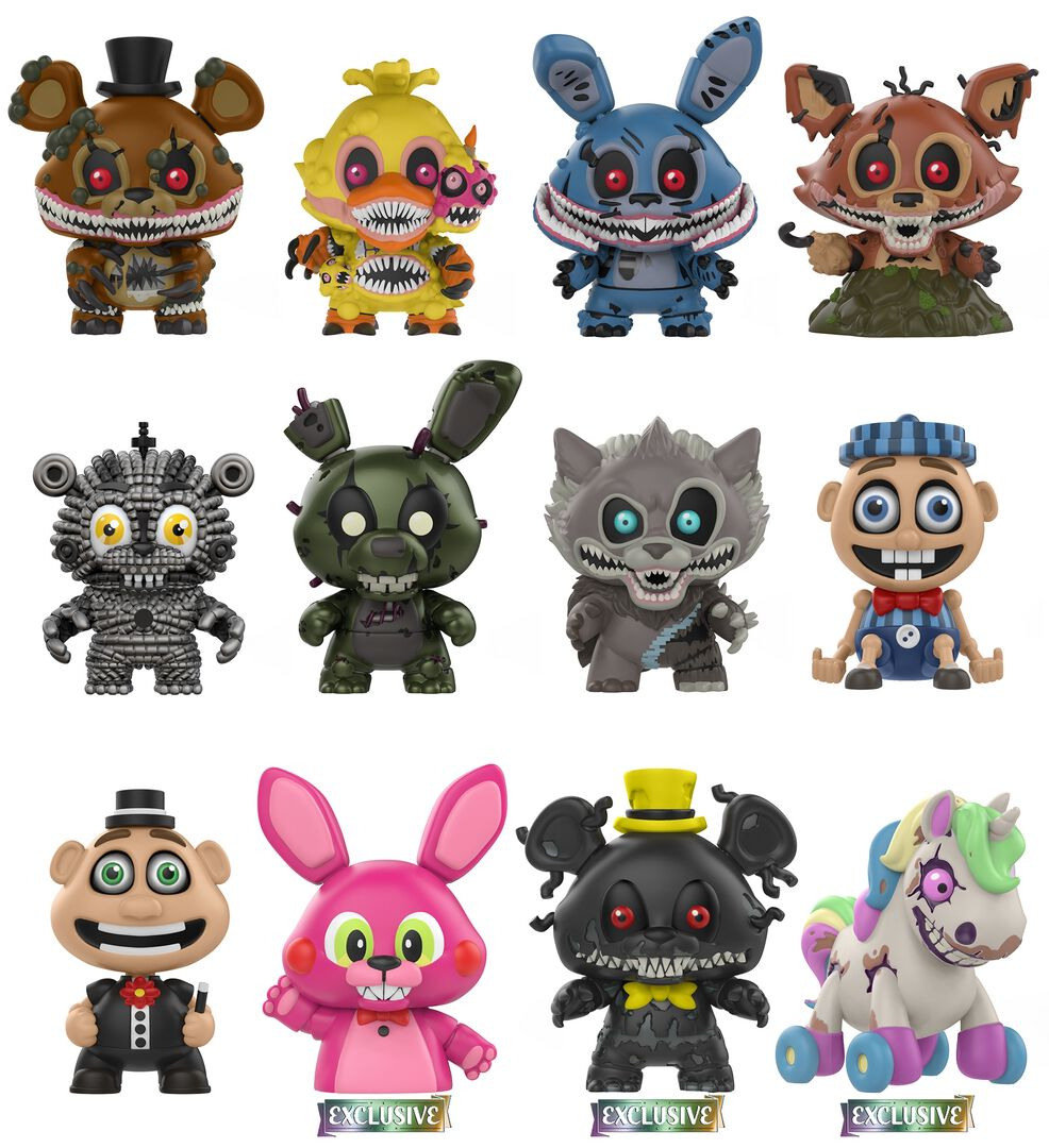 Five Nights At Freddy's Twisted - Mystery Mini Blind Figura de colección Standard