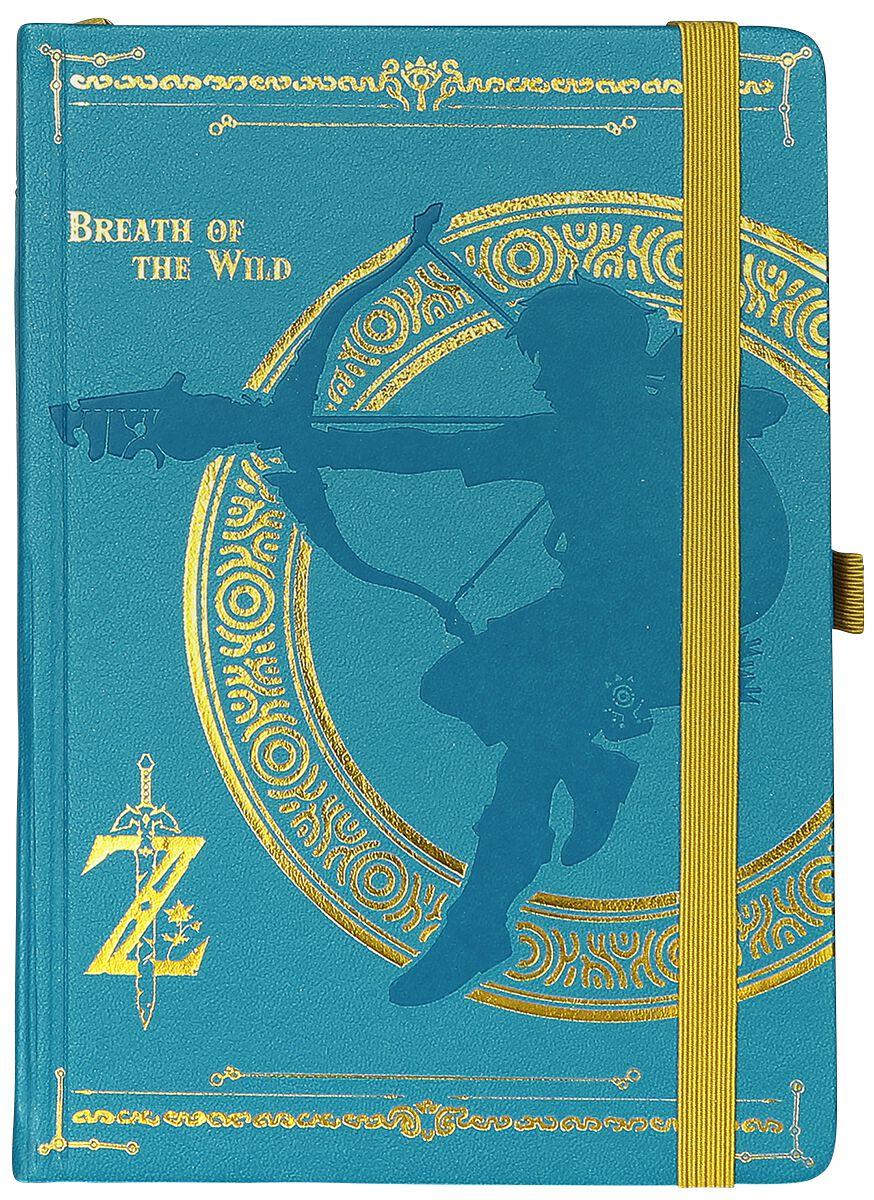 Image of   The Legend Of Zelda Breath Of The Wild Notesbog multifarvet
