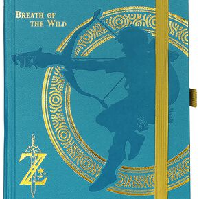The Legend Of Zelda Breath Of The Wild Cahier multicolore