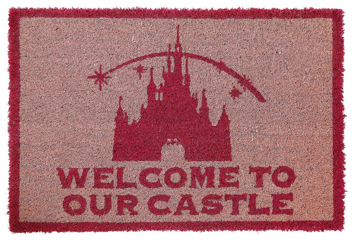 Image of   Disney Princess Welcome to our Castle Dørmåtte multifarvet