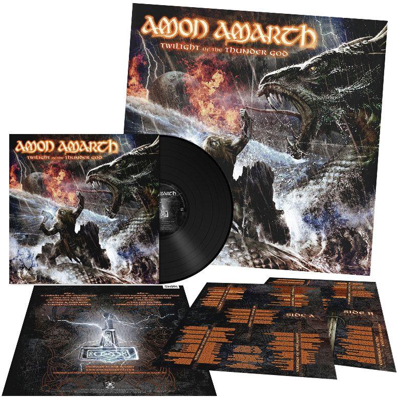 Image of   Amon Amarth Twilight Of The Thunder God LP standard