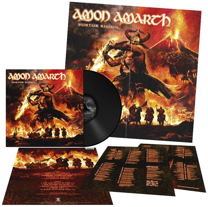 Image of   Amon Amarth Surtur rising LP standard